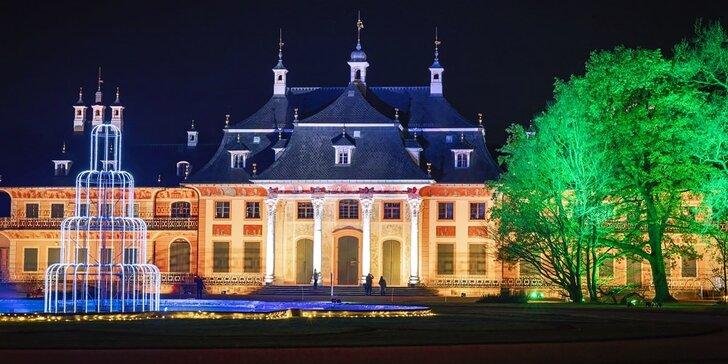 Adventní výlet do Drážďan a kouzelných zahrad zámku Pillnitz ve 4 termínech
