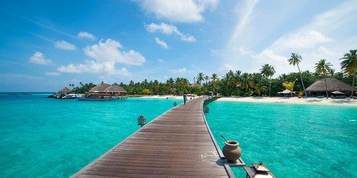 Dovolená na exotických Maledivách: 6–12 nocí ve vilce s privátním bazénem, all inclusive