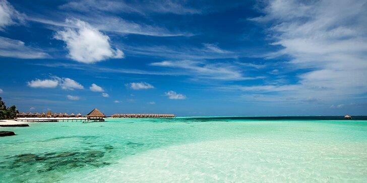 Nádherný pobyt v 5* resortu na exotických Maledivách: 6–12 nocí s all inclusive a lekcemi jógy