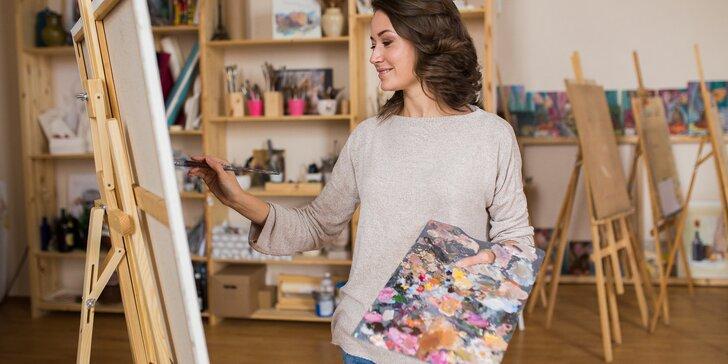 Výtvarné kurzy pro dospělé: olejomalba, figurální a abstraktní kresba