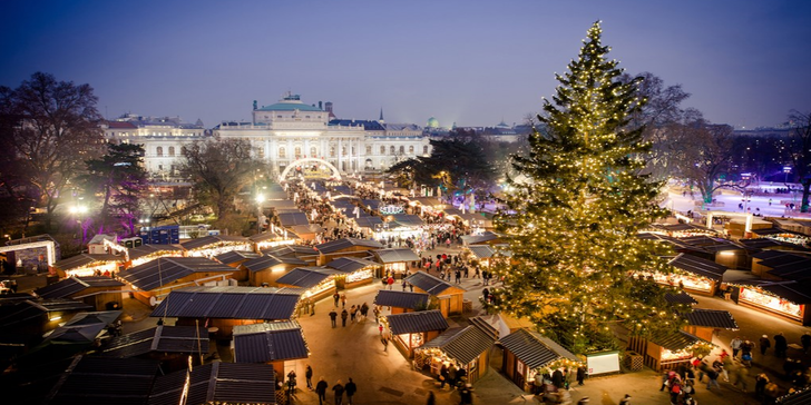 Výlet do adventní Vídně a za výhodnými nákupy v Primarku - odjezdy z Moravy