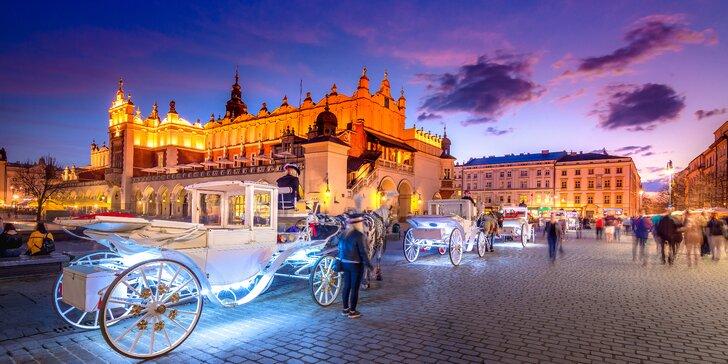 Adventní výlet do Krakova s odjezdy z Moravy či Slezska