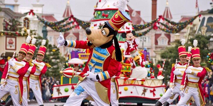 Adventní Paříž a návštěva Disneylandu s ohňostrojem vč. ubytování na 1 noc