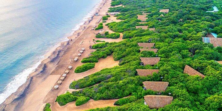 Přepychový 5* resort na Srí Lance: 6–12 nocí, polopenze, 2 bazény i fitness centrum