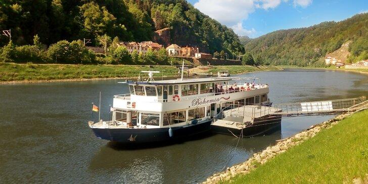 Výlet na Skalní most Bastei v Saském Švýcarsku s plavbou lodí v ceně