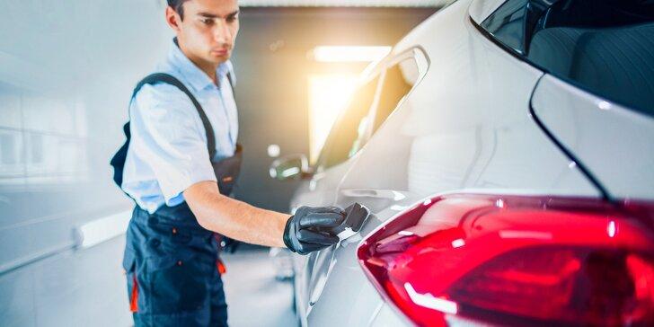 Rychločištění či kompletní čištění vozu i s možností voskování