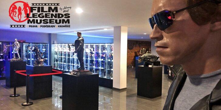 Vstup do unikátního Film Legends Musea nejen pro milovníky filmu