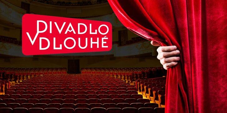 Sami nebo ve dvou do Divadla v Dlouhé: 40% sleva na vybraná představení