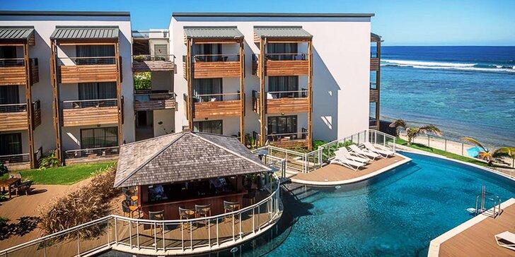 Exotická dovolená v 3* plážovém resortu na Réunionu: 6–12 nocí s polopenzí