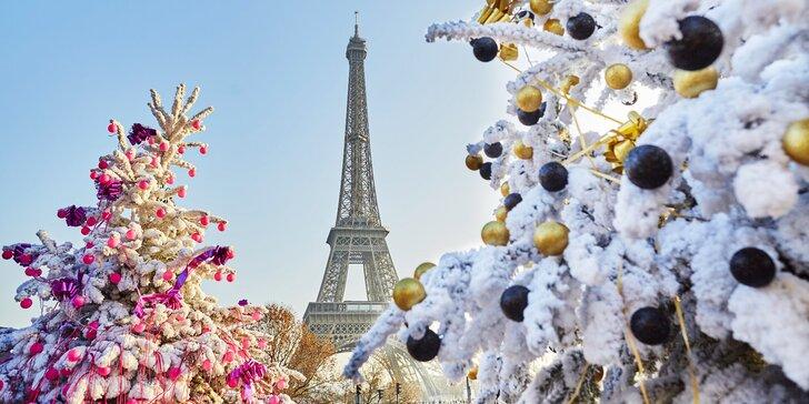 Prožijte nádherný adventní den v kouzelné Paříži s průvodcem