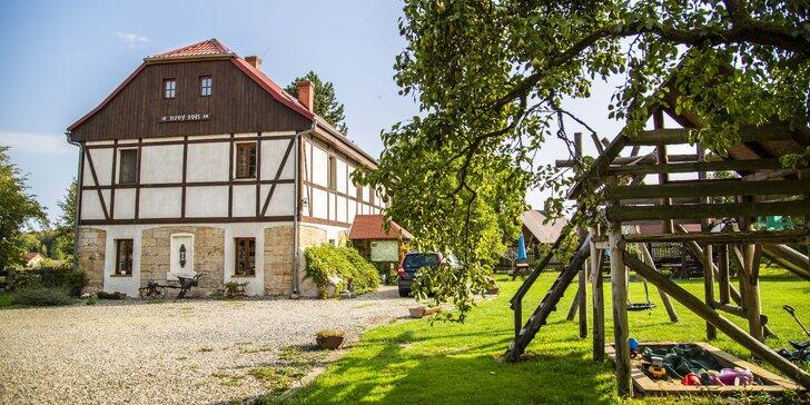 Romantické České Švýcarsko: farmářská snídaně a horká koupel pod hvězdami