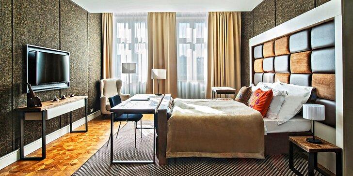 Pobyt v luxusním 5* hotelu v polském Řešově: velké pokoje, jídlo i wellness