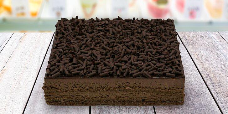 Italský dort podle výběru: čokoládový, jogurtovo-malinový či tvarohový