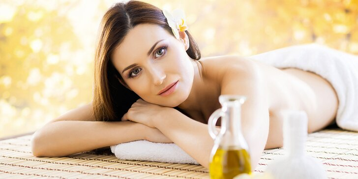 Klasická masáž s peelingem a rašelinovým zábalem