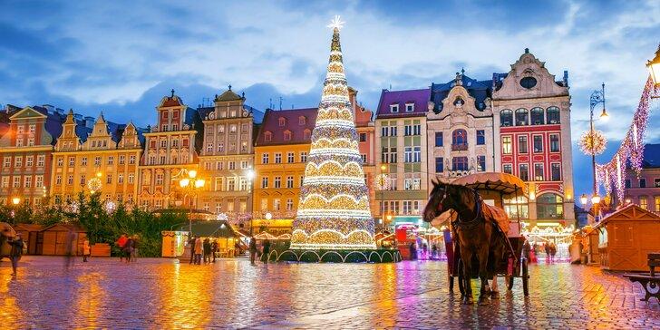 Jednodenní autobusový zájezd do adventní Vratislavi: odjezd z Moravy