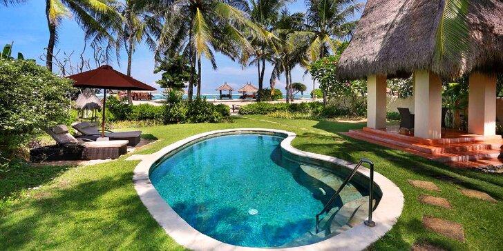 Božský relax na indonéském Lomboku: 6–12 nocí v 4* resortu s polopenzí