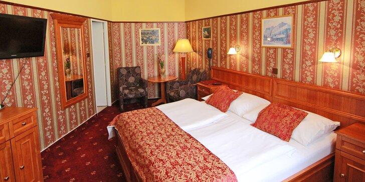 Praha romantická: elegantní hotel v srdci Starého Města se snídaní