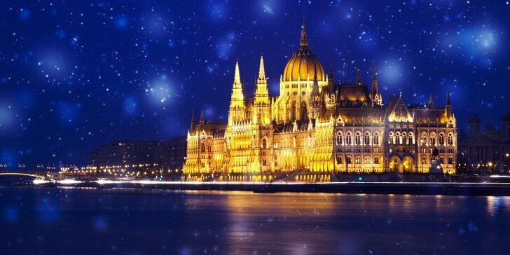 Adventní zájezd do Budapešti a Győru: doprava a 2 noci v hotelu s wellness