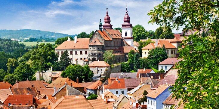 4* relax v Třebíči: polopenze i vstupenky do památek UNESCO a aquaparku