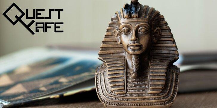 Zábava pro děti: Egyptská úniková hra a tematické posezení v kavárně