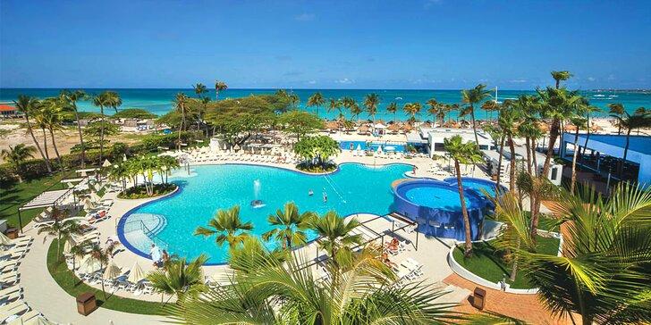 Luxus a exotika v 5* resortu na Arubě: 6–13 nocí, all inclusive, přímo u pláže