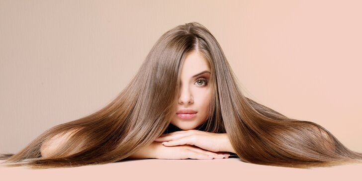 Kadeřnický balíček se střihem i melírem či barvou pro všechny délky vlasů