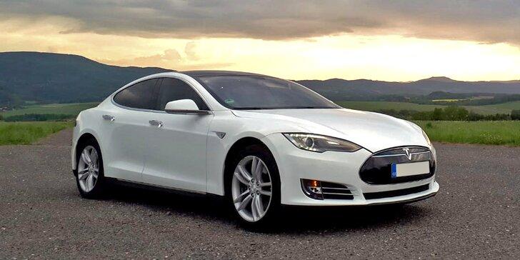 Zrychlení z 0 na 100 km/h za 4 s: spolujízda nebo řízení žihadla Tesla S