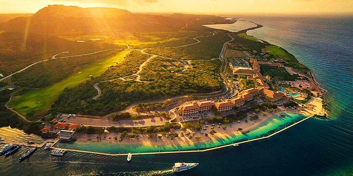 Exotická dovolená v luxusním 5* hotelu na Curaçau: 7–13 nocí s all inclusive