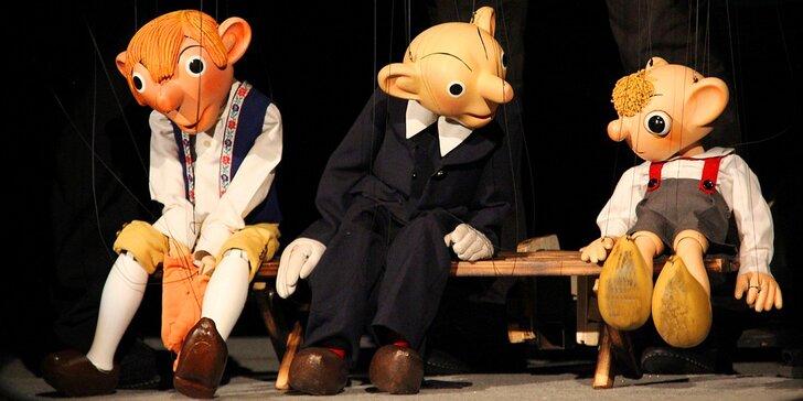 2 vstupenky do Divadla Spejbla a Hurvínka na představení pro dospělé