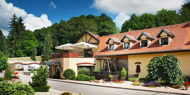 Relaxační pobyt na Moravě až pro 5 osob: polopenze, víno a spousta výletů