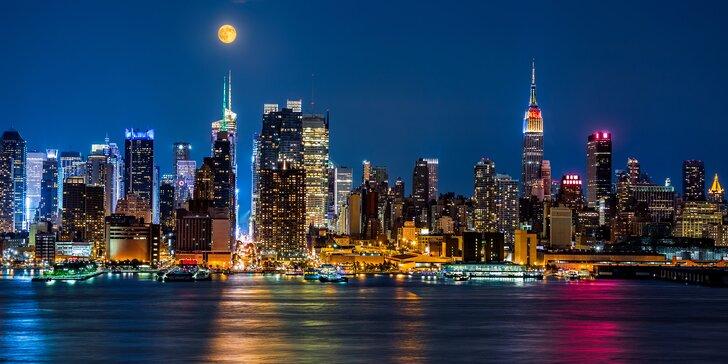 Zažijte energii New Yorku: zájezd na 4 noci s průvodcem a letenkou
