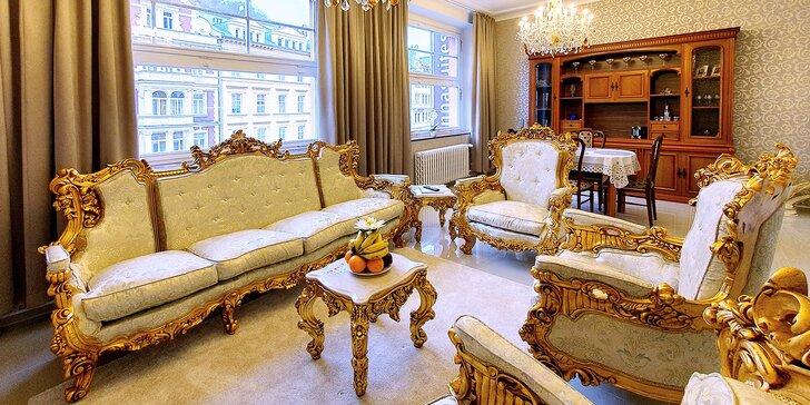 Ubytování v krásných apartmánech v centru Karlových Varů