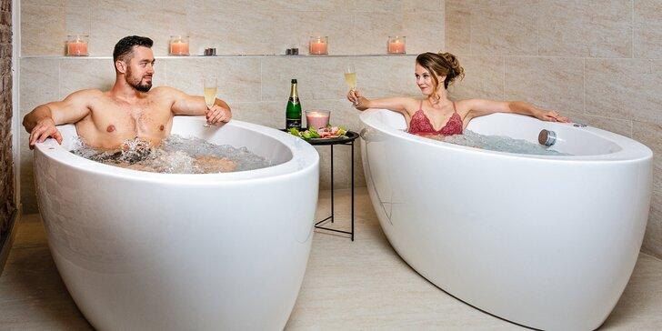 Romantika blízko Karlových Varů: bazén, wellness procedury a polopenze