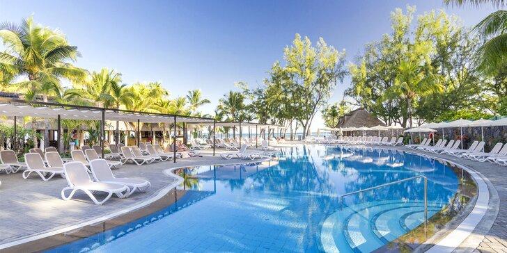 Exotická dovolená na Mauriciu: 6–12 nocí v 4* hotelu s all inclusive a bazény