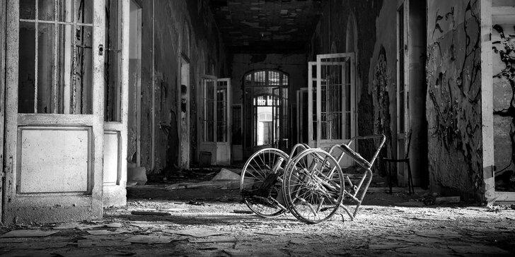 Únikové hry z psychiatrické léčebny: 2 místnosti nebo 1 podle výběru
