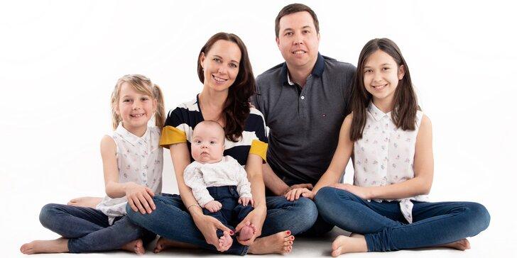 Focení pro budoucí i novopečené maminky nebo pro celou rodinu