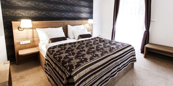 4* pobyt v Mariánských Lázních: luxusní ubytování, polopenze, sauna a bazén