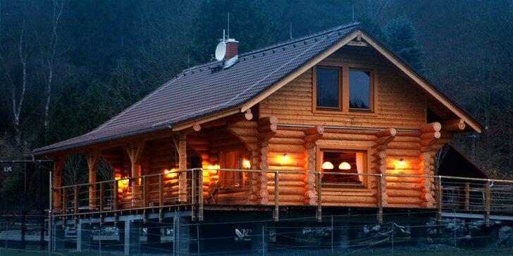 Pro romantiky a tuláky: rodinný pobyt ve srubu na westernovém ranči u Plzně