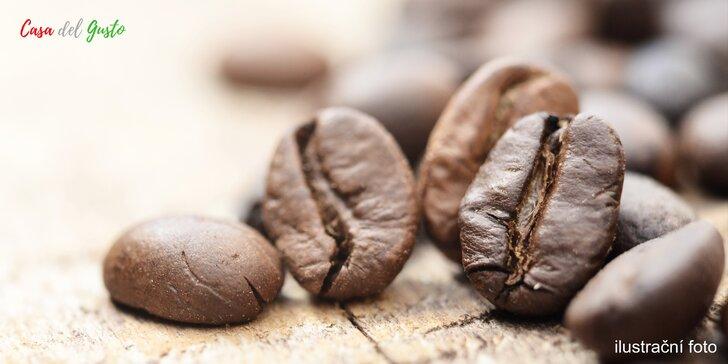 1 kg italské zrnkové kávy z Cafe del Custo