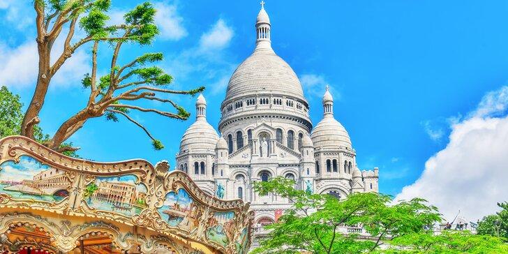 Paříž: letenka, 3x nocleh blízko metra a průvodce pro malou skupinu