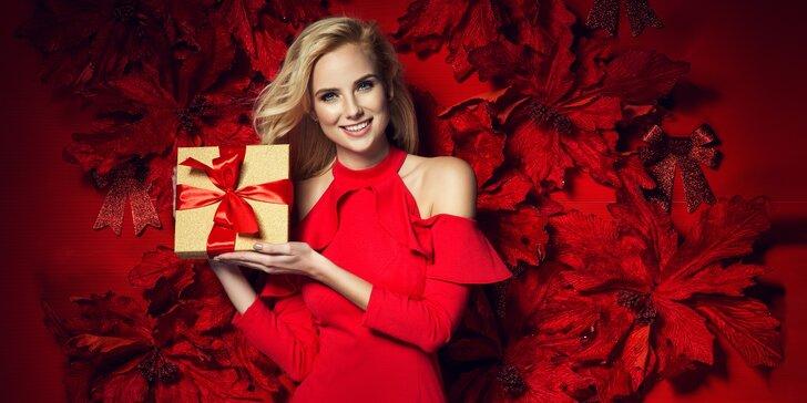 Dárek pro vaší krásu: dárkové poukazy v hodnotě 300, 500, 700 či 1000 Kč