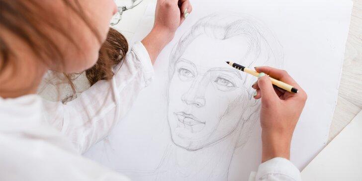 Víkendový kurz kreslení pravou mozkovou hemisférou