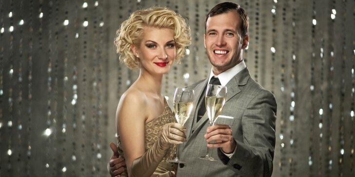 Silvestrovský pobyt v elegantním hotelu v Orlických horách s večírkem a rautem