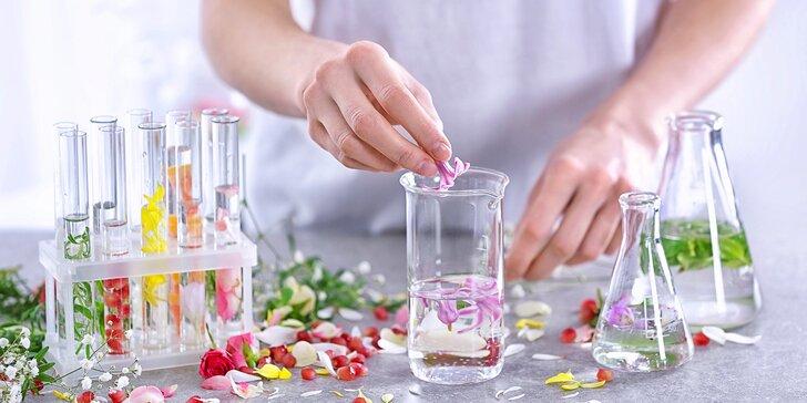 Voňavé tvoření: 3hodinový workshop výroby botanické vůně