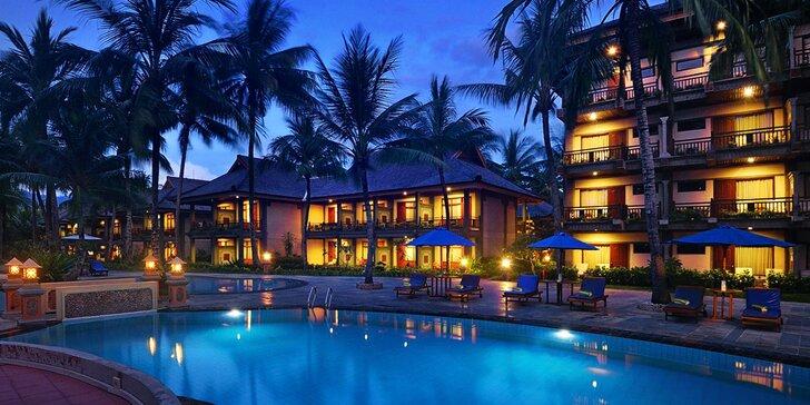 Exotický 4* resort na indonéském Lomboku: 6–12 nocí s polopenzí a lázněmi