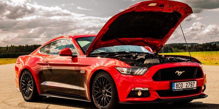 Zkroťte 850 koní: jízda ve Fordu Mustang GT Roush či pronájem na 24 hodin