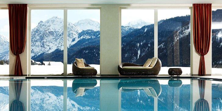 Užijte si italské Alpy: luxusní pobyt s polopenzí, wellness i bazénem