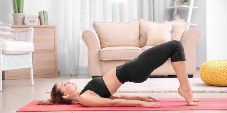 Online pilates: cvičte celý měsíc z pohodlí domova