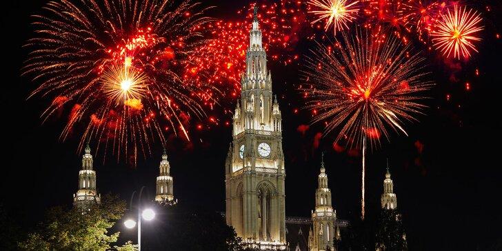 Silvestrovský výlet do Vídně: procházka po městě a večerní show s ohňostrojem