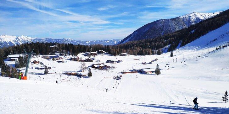 Jednodenní lyžování v rakouském středisku Hinterstoder